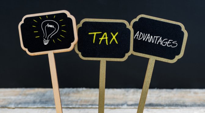 Tax Advantages behind investment