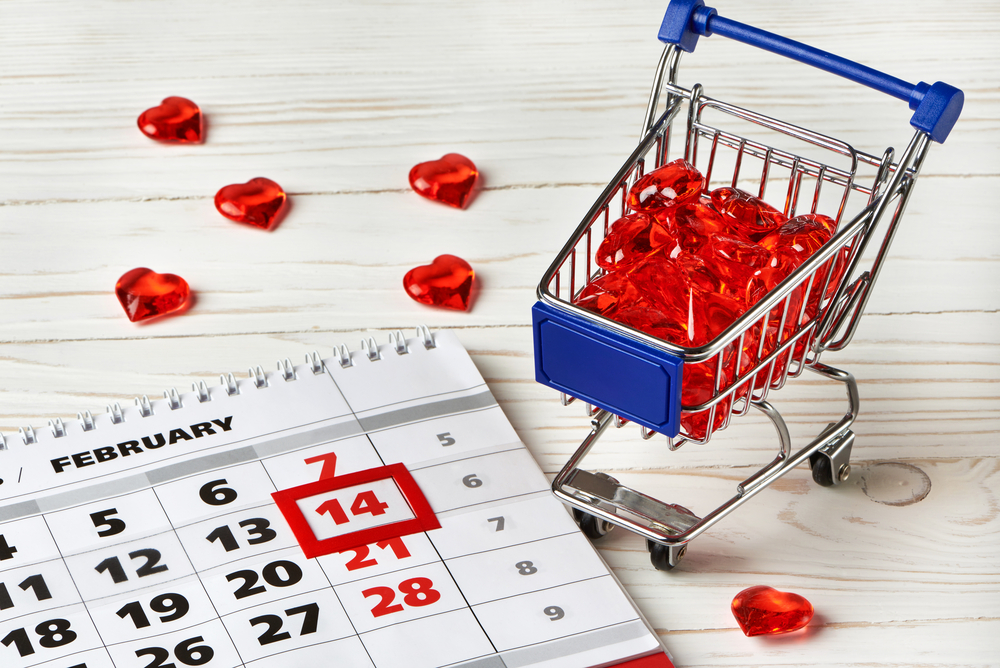 Valentine Day Shopping